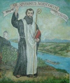 Der Hl. Severin von Noricum